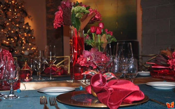 Christmas party d cor florals catering and event for When does las vegas decorate for christmas