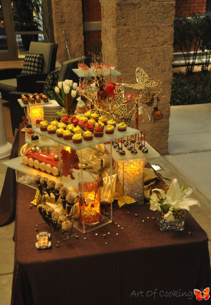Christmas Party Dessert Station | Upscale Weddings and ...