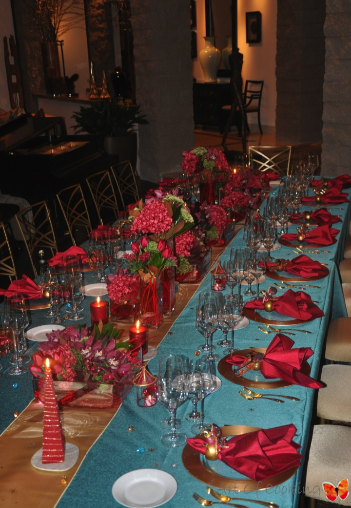 christmas party d cor florals upscale weddings and high end event planning aoc las vegas. Black Bedroom Furniture Sets. Home Design Ideas